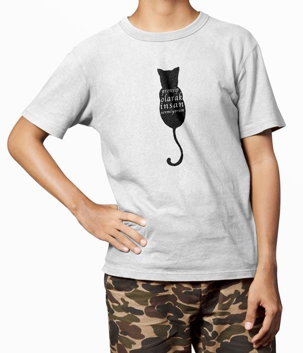 kedili tisort erkek model