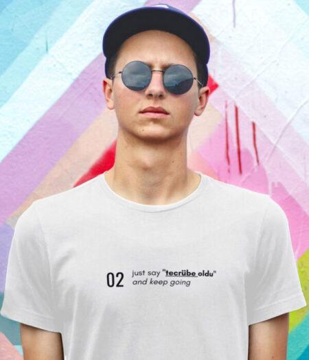 erkek tasarım tişörtü