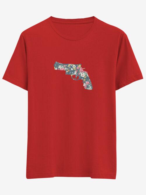 revolver tasarım tişört