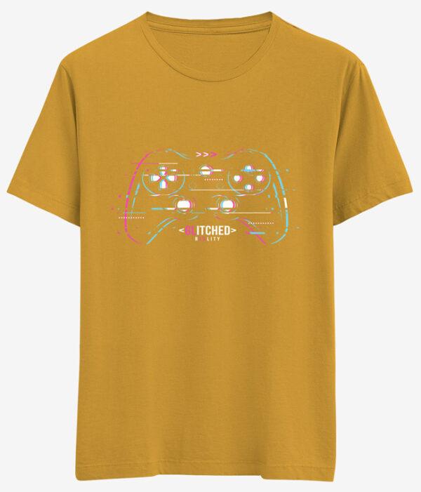 gamer logo tişört glitched