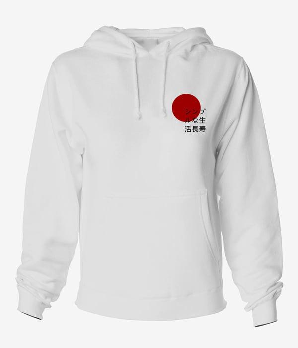 sweatshirt kapsonlu japon yazilion