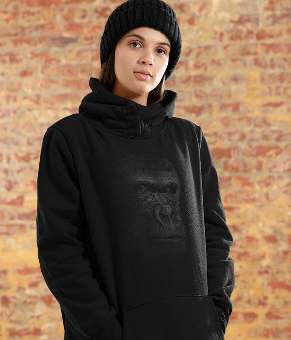 kapsonlu sweatshirt model kadin