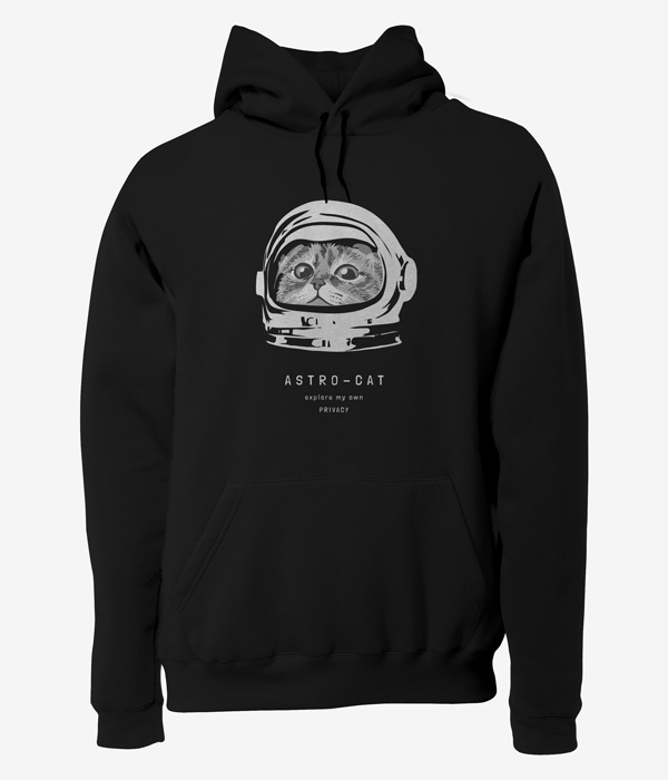 tasarim sweatshirt astro cat