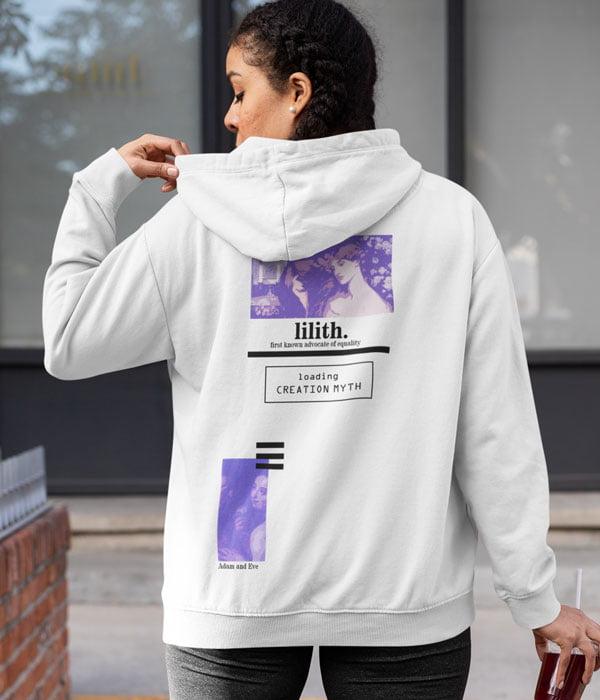 tasarim sweatshirt loading myth arka model